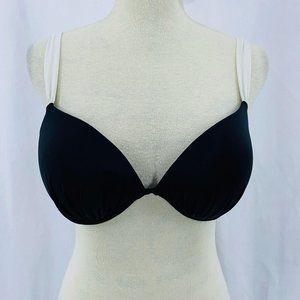 Victoria Secret Bombshell Bikini Top Black White